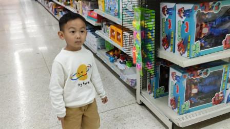 萌娃沃尔玛超市逛玩具文具搞笑视频