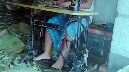 印度餐具,用荷叶制作,大量使用相当环保