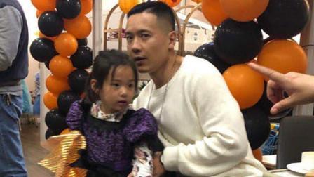 高云翔现身董璇餐厅,剃寸头打扮低调,手抱女儿父爱十足