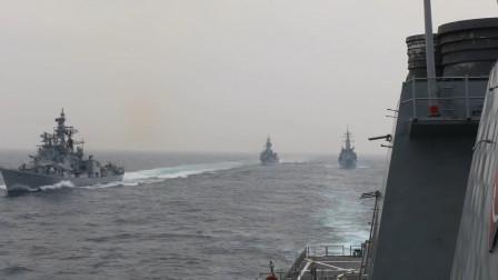 美澳日印举行2020海上联合军事演习
