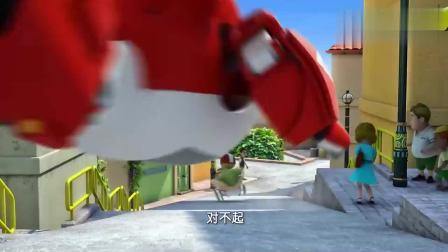 超级飞侠:乐迪求助总部救援,帮助亚力士重新回到赛场!
