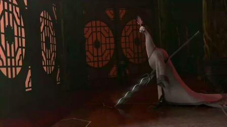 功夫熊猫:沈王爷真可爱,就要见到阿宝,结果却弄起台词!