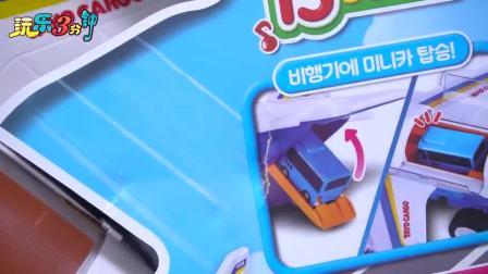 太友小巴士的仿真飞机玩具