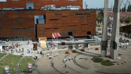 波兰格但斯克的欧洲团结中心