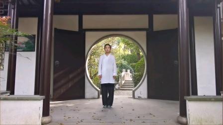 健身气功 八段锦 武敏 演示