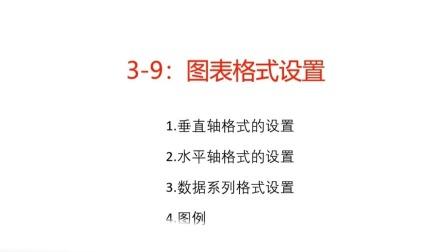 3-9:图表格式设置