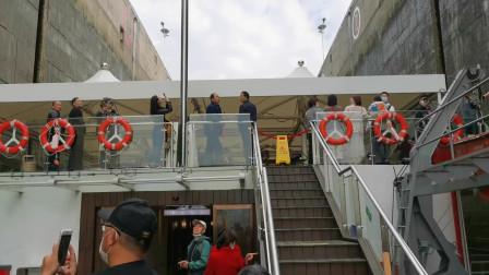 浩大三峡的工程奇迹,葛洲坝3000吨的轮船即将进港