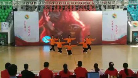 2020年广东省健身气功气舞大赛赛前走场(汕头市代表队)
