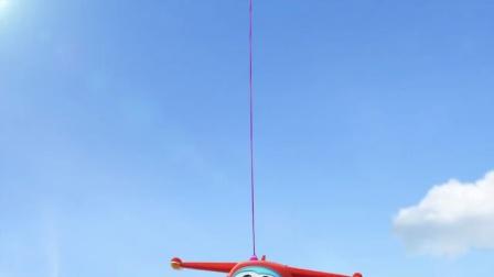 超级飞侠 英文 热气球旅行