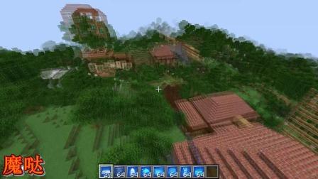 我的世界超级建筑模组完结篇,看完谁都可以成为城市的创世神