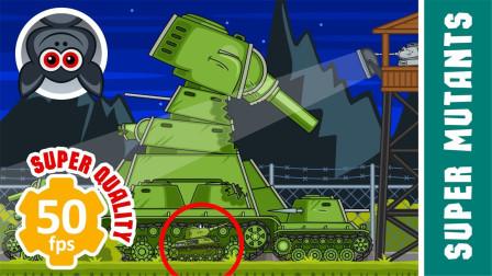 坦克世界小剧场:具有神奇能力的小坦克间的战斗!