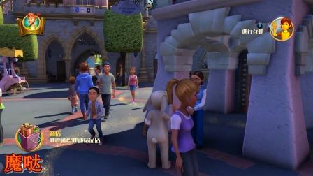 帮助小飞侠找到了他的影子,路上还遇到白雪公主
