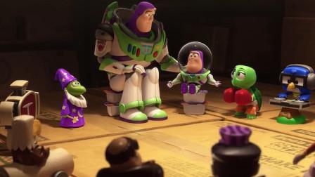 玩具总动员番外篇:巴斯光年意外被遗弃,其实是替身在背后捣鬼