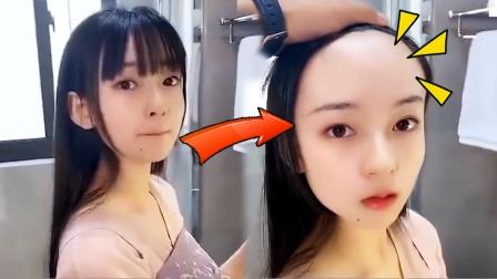 女生的头发有多神奇?差点被骗了!