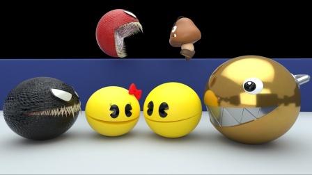 谁在攻击刺猬索尼克和吃豆人?是怪博士在攻击他们吗?吃豆人游戏