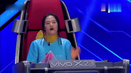 中国好声音:小姐姐演唱的歌曲,再加上舞姿,简直不要太妖娆