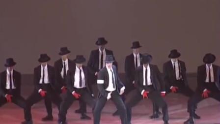 迈克尔杰克逊把颁奖典礼变成演唱会现场!