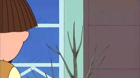 樱桃小丸子:爷爷看到晴彦受伤,想要砍掉那棵树,却被他阻止