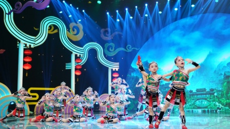舞蹈《走在山水间》星耀杯2020广东少儿中秋联欢晚会-播出节目