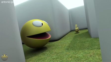 吃豆人看到了什么很惊讶?吃豆人游戏