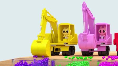 路西粉红色的勾机好看吗?迷你特工队游戏
