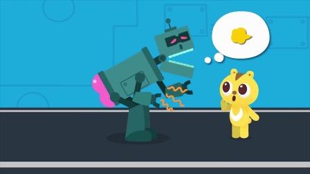 麦克斯分机器人 吃猕猴桃  机器人爱吃吗?