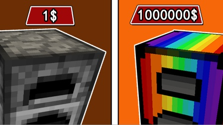 我的世界:制作一台价值100万美元的电动小马达熔炉!