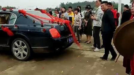吴川市黄坡镇冼村锣鼓队江尾村婚礼留念二O一九年
