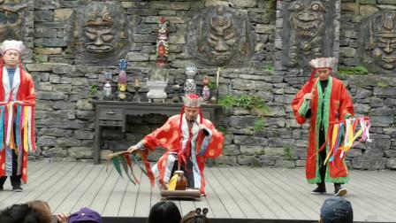 神秘古老的巴人祭祀仪式,魔术与杂技的融合