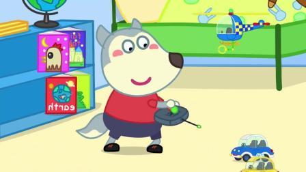 谁的玩具谁清理,超级英雄家庭一起清理玩具,养成好习惯动画视频