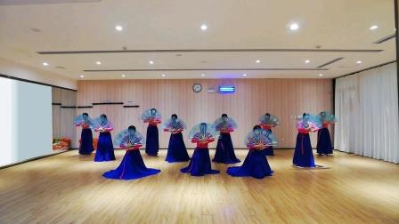 软玉舞蹈《金刚山姑娘》朝鲜扇舞