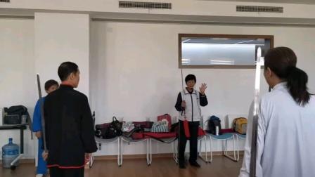 曾美英老师42式太极剑上课视频剪辑2