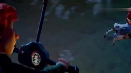精灵小王子:奶牛竟然会飞!刚好给托尼当坐骑,不愧是吸血鬼的牛
