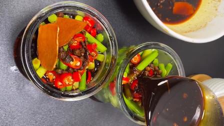 教你做泡蒜薹,酸爽可口,下饭非凡合适,美味又解馋