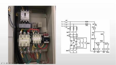 星三角降压启动并联两台电机,一台电机反向,如何改变旋转方向?