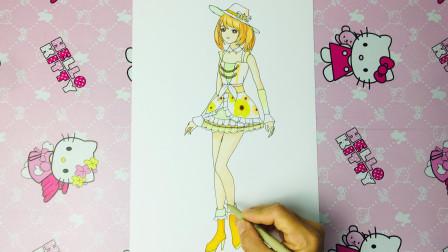 手绘菲梦少女第2季 画法简单可爱的杨松儿