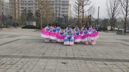 北关清叶舞蹈队28《梁祝》大扇舞