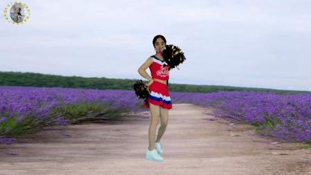 动感花球健身舞《爱郎的心》经典老歌,欢快32步附教学