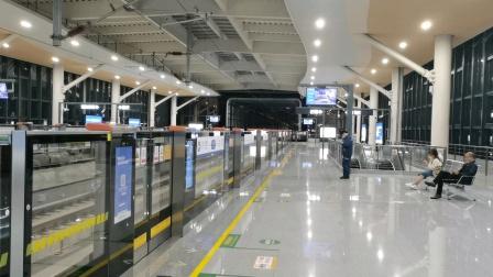 新机拍摄(2020.11.14)温州轨道交通S1号线 S1D01-S108 (三垟湿地-温州南站)列车终点站桐岭