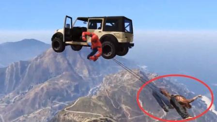 GTA5:果然死亡飞车要这样玩才刺激啊!