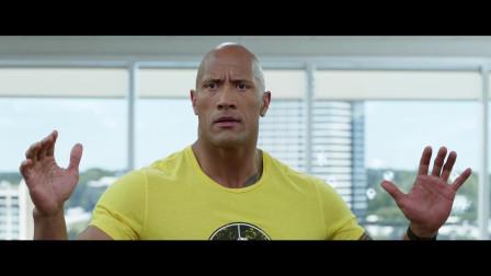 动作片:巨石强森加盟,大块头和小块头会有怎样的乌龙故事呢
