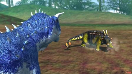 恐龙大战5:包头龙VS食肉牛龙