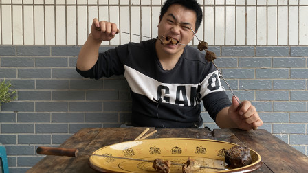 用猪槽烤的鸡屁股、鸭屁股、鹅屁股和鹅肝你吃过吗?哪一个更好吃