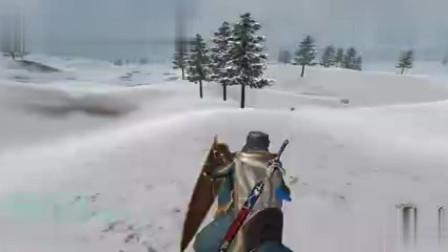 骑马与砍杀自建兵种之枪盾方阵,2米长枪大战恐惧军团