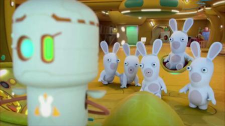 疯狂的兔子:给机器人过生日