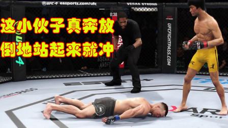 俄罗斯选手说李小龙的功夫花架子,上场一回命直接被KO