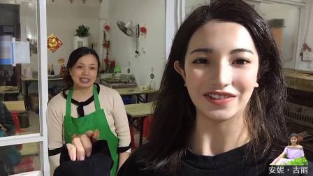 上海开烧烤店一天能赚多少?维吾尔古丽问开店霞姐,热情又朴实