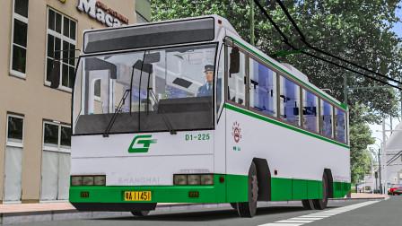巴士模拟2:114后半程 驾驶上客SK5105GP2至南田路 | OMSI 2 广佛市 114(2/2)