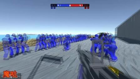 500多人的战役太热闹,飞机大炮满天飞根本没地方躲