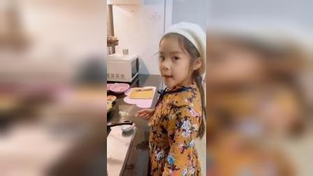 萌娃:让小厨给你们做出美味好看的食物